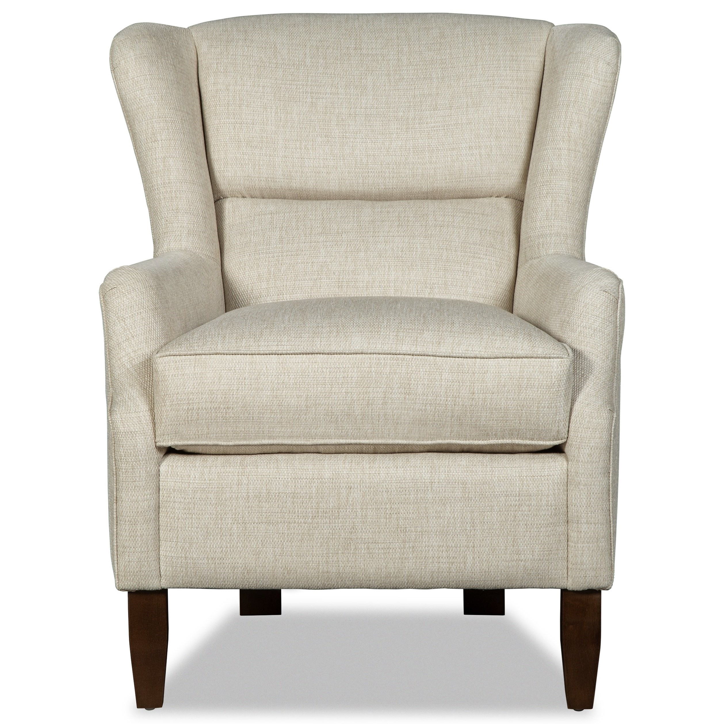 007910 Wing Chair by Craftmaster at Lagniappe Home Store