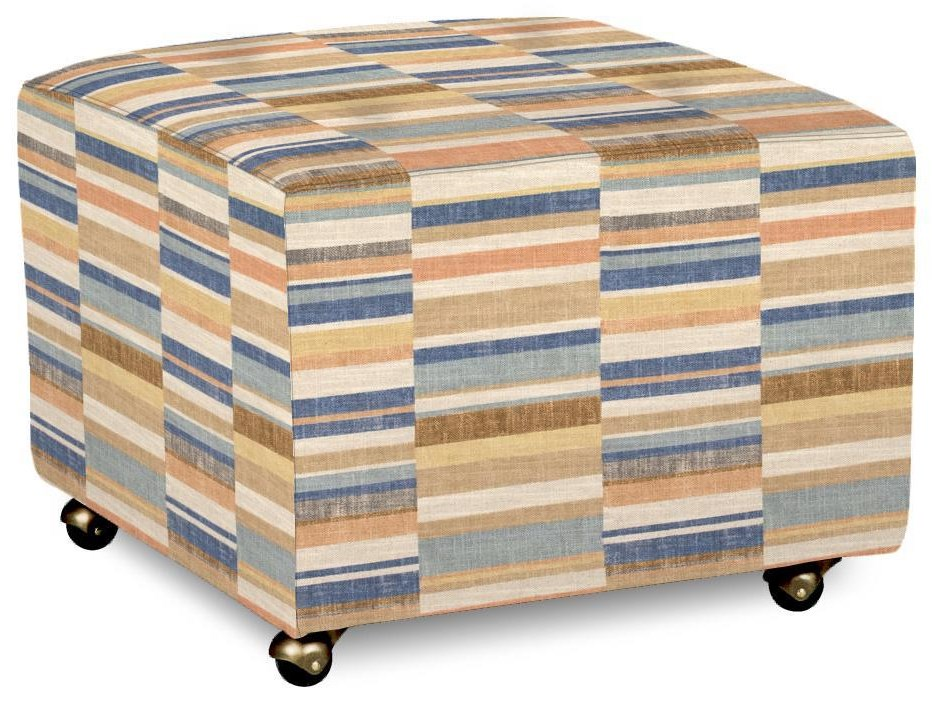 062100 Accent Ottoman by Craftmaster at Esprit Decor Home Furnishings