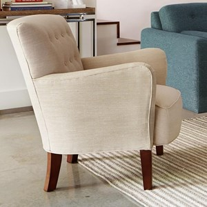 Accent Chair with Tufted Back