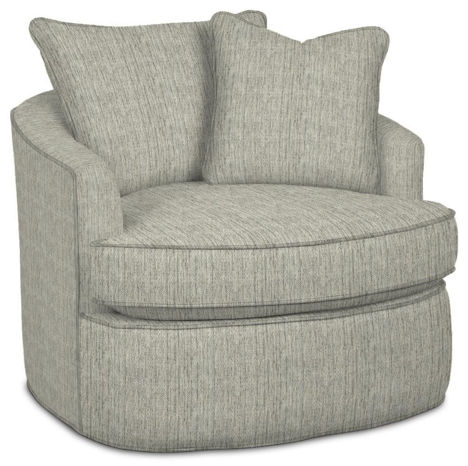 085710 Swivel Chair by Craftmaster at Esprit Decor Home Furnishings