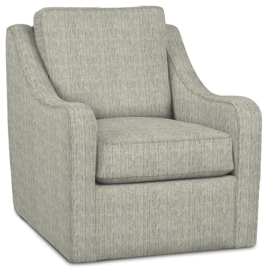 087 Chairs Swivel Chair by Craftmaster at Esprit Decor Home Furnishings