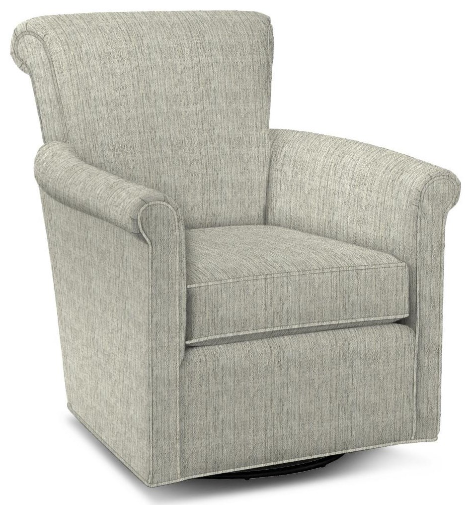 093110 Swivel Glider Chair by Craftmaster at Esprit Decor Home Furnishings