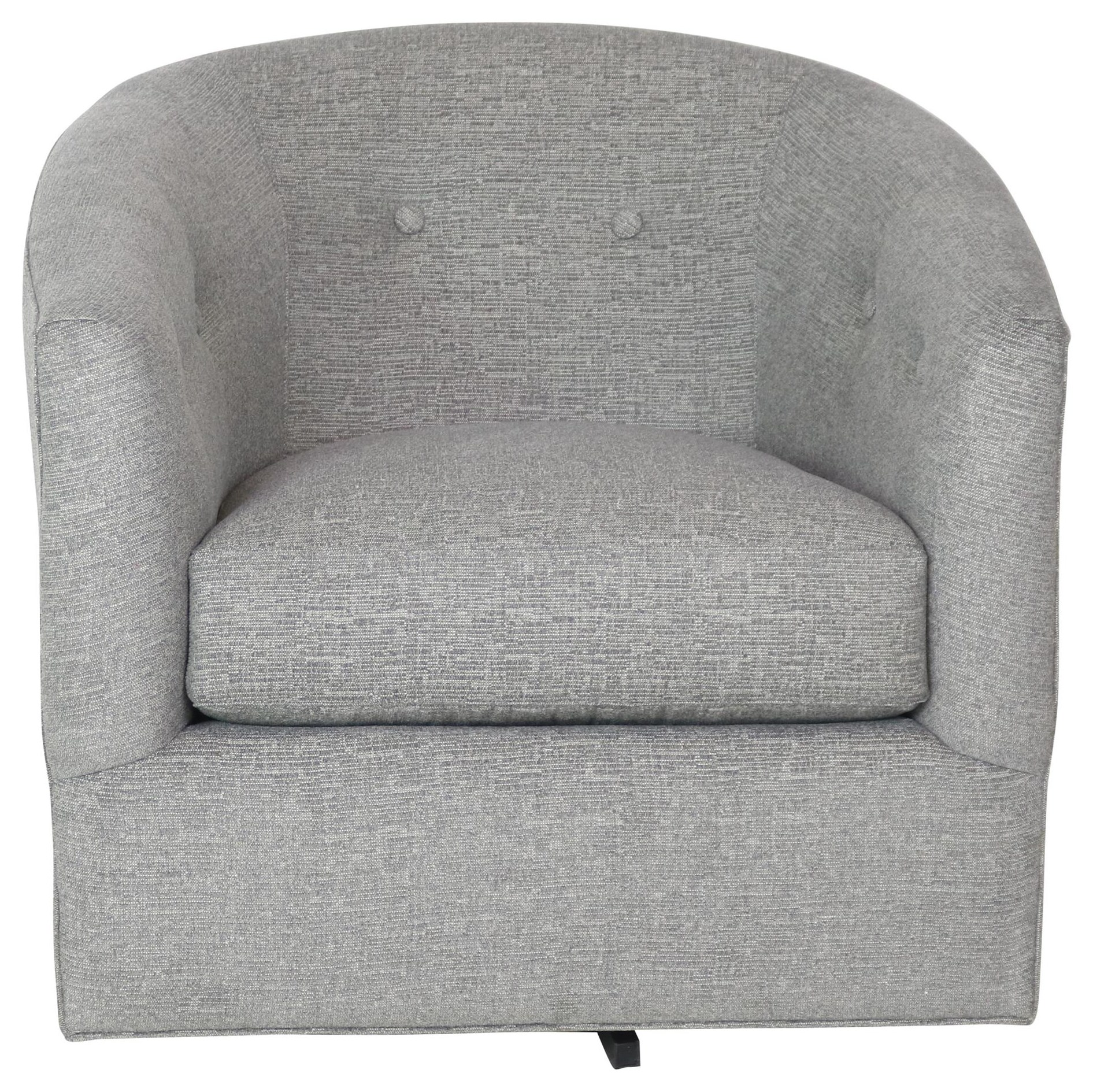 094110 Swivel Chair by Cozi Life Upholstery at Sprintz Furniture