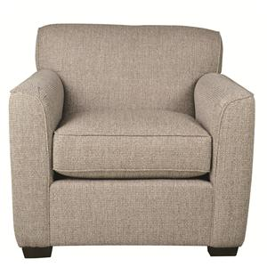 Casual Chair with Modern Styling