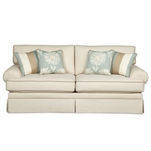 Craftmaster 4550 Upholstered Stationary Sofa