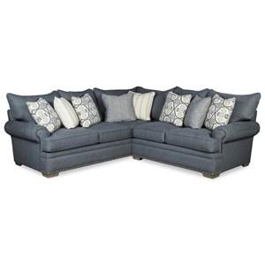 4-Seat Sectional Sofa w/ RAF Loveseat