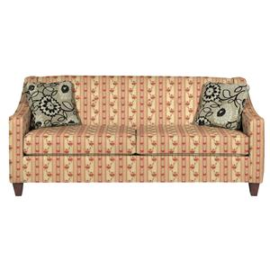 Contemporary Sofa with Button Detail