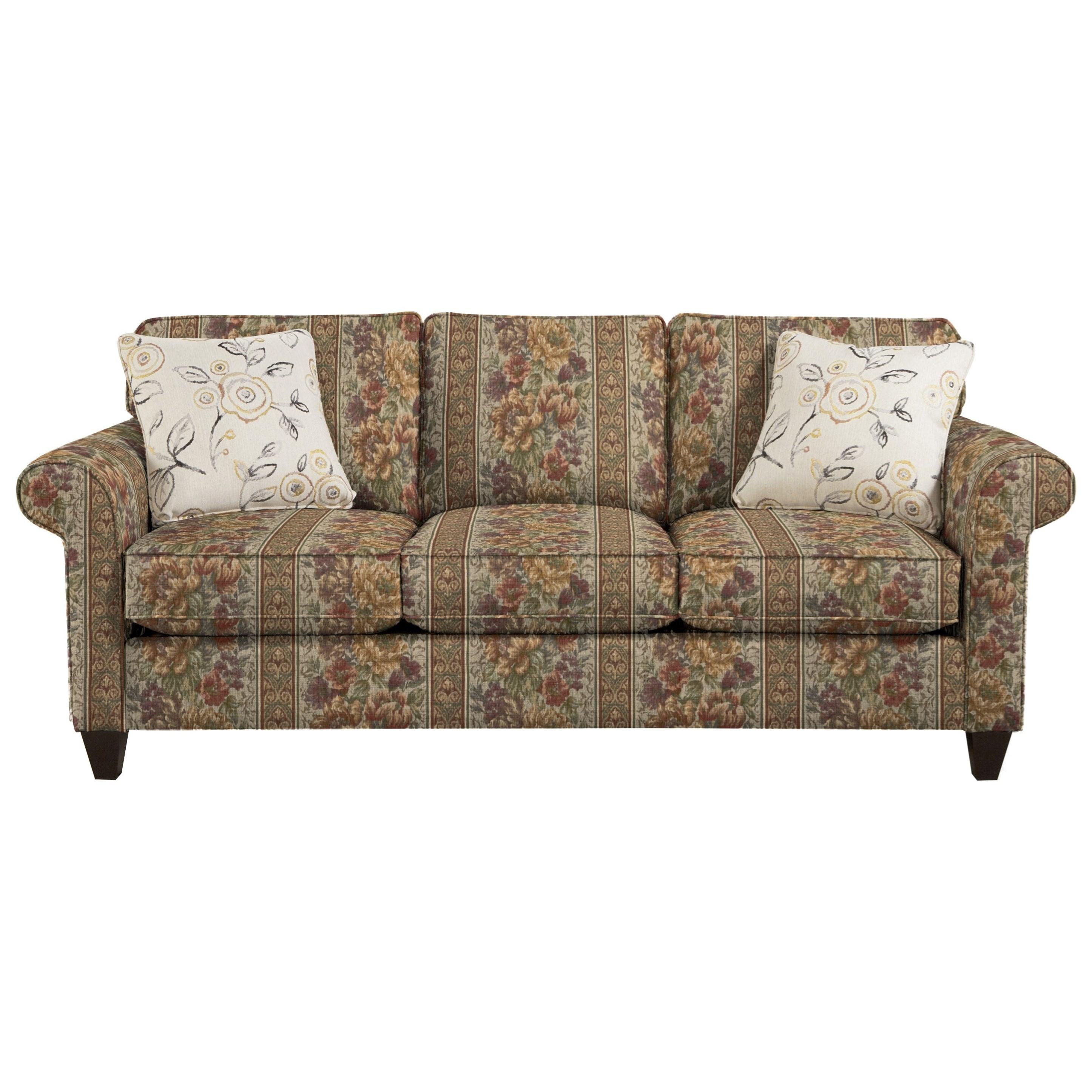7421 Sofa by Craftmaster at Dunk & Bright Furniture