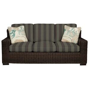 Cozy Life 750700 Wicker-Framed Sofa Sleeper w/ Air Dream Mat