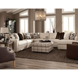 5 Pc Sectional w/ RAF Chaise