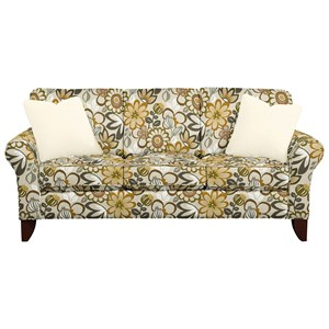 Transitional Small Scale Sofa