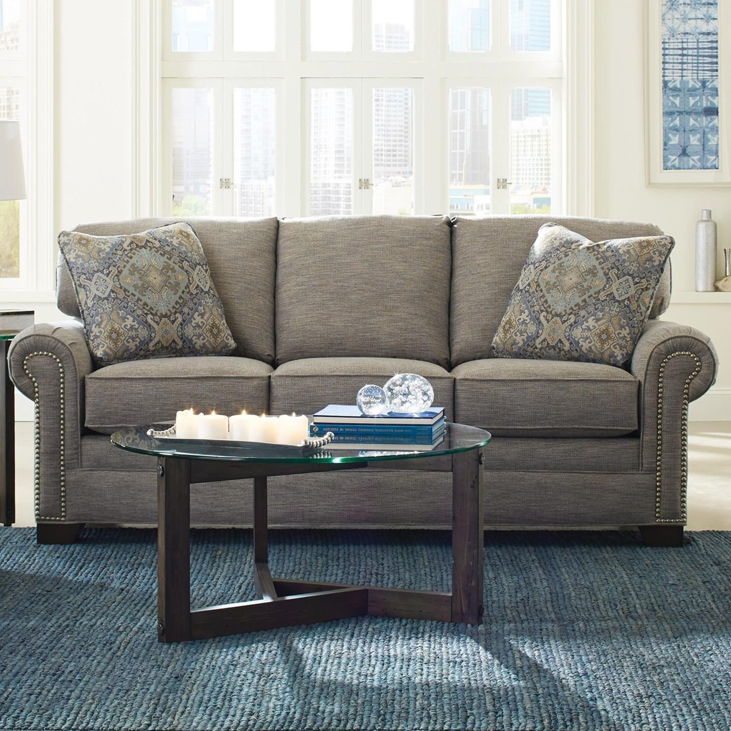 7565 Sleeper Sofa by Craftmaster at Home Collections Furniture