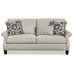 Casual Two Over Two Cushion Sofa