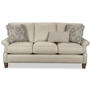 Casual Three Over Three Cushion Sofa