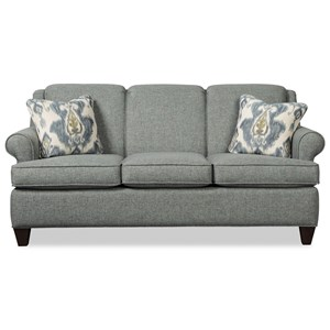 Transitional 73 Inch Sofa