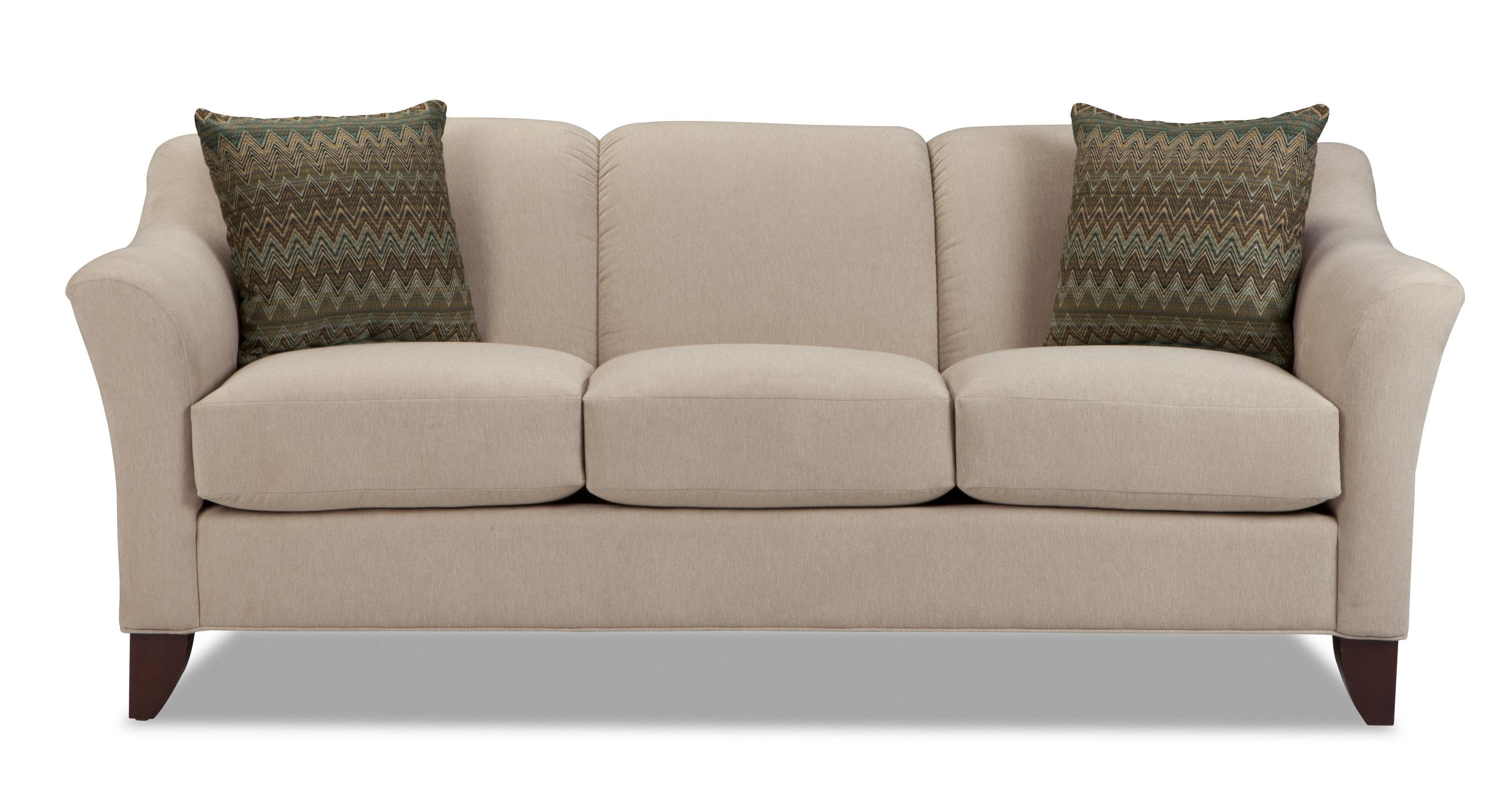 7844 Stationary Sofa by Craftmaster at Dunk & Bright Furniture
