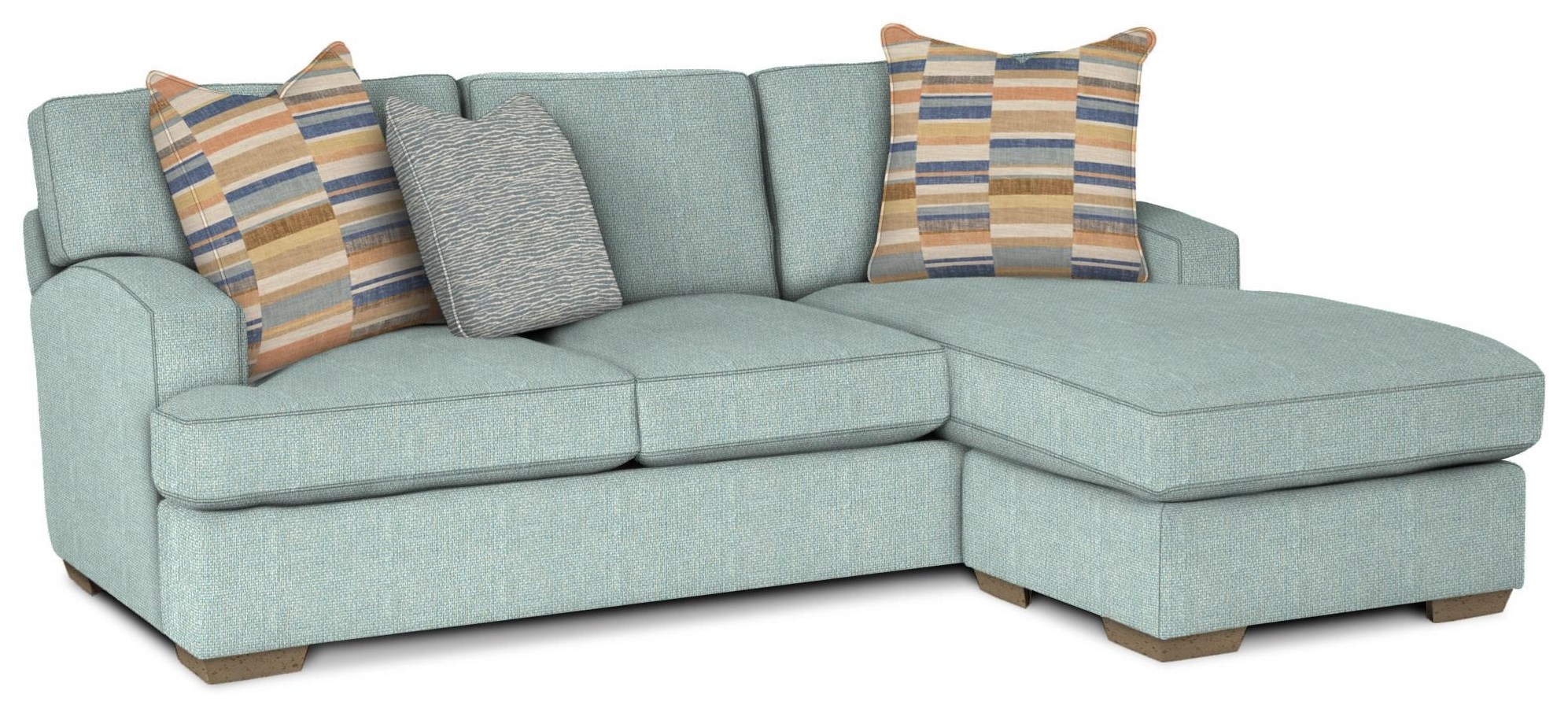 785350 Sofa w/ Chaise by Craftmaster at Esprit Decor Home Furnishings