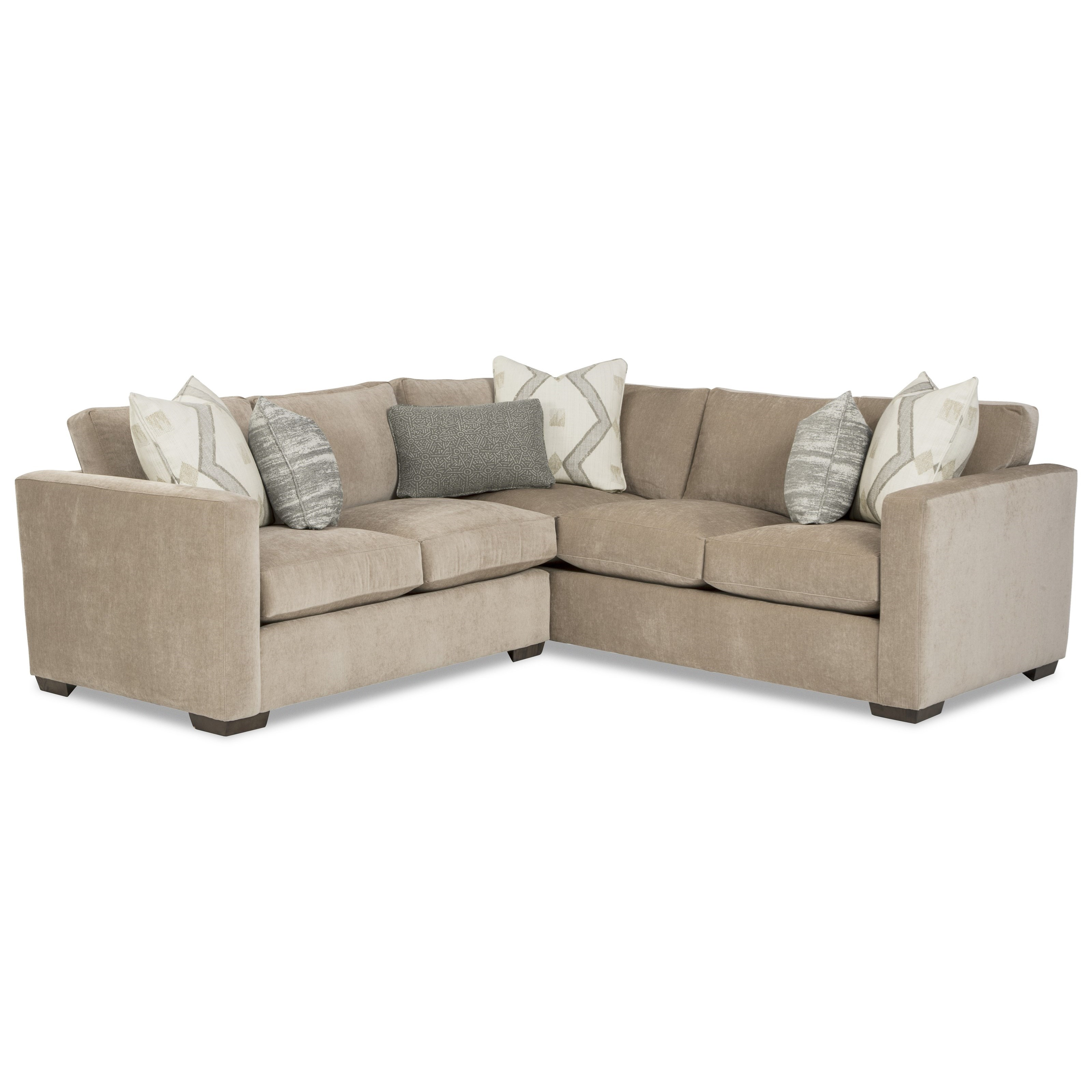 792750BD 2-Piece Sectional with RAF Corner Sofa by Craftmaster at Prime Brothers Furniture