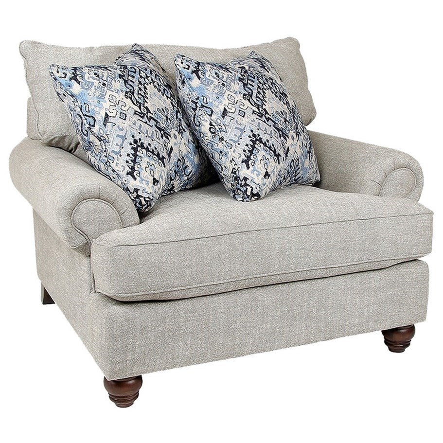 7970 Chair by Craftmaster at Esprit Decor Home Furnishings