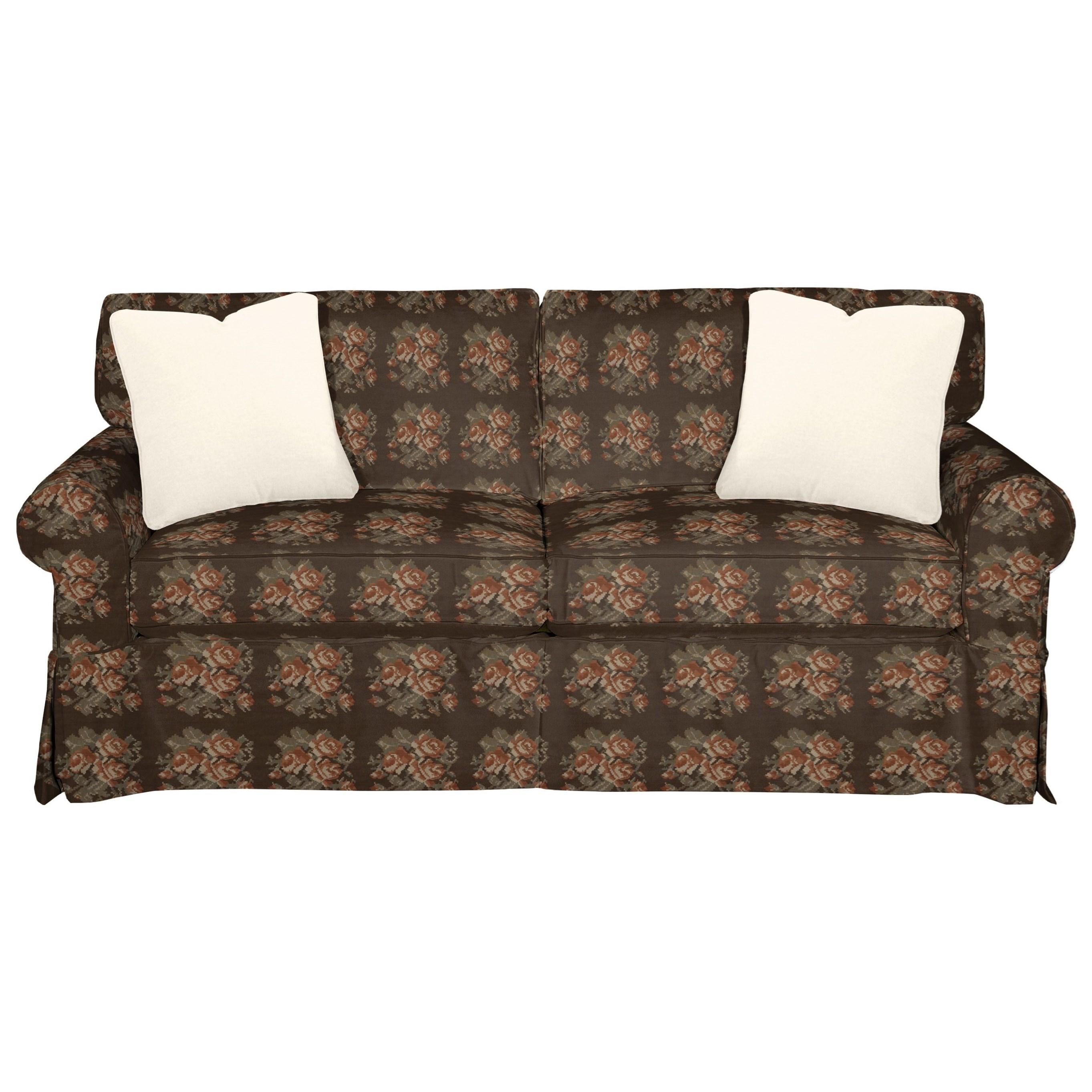 9228 Sleeper Sofa w/ Innerspring Mattress by Craftmaster at Bullard Furniture