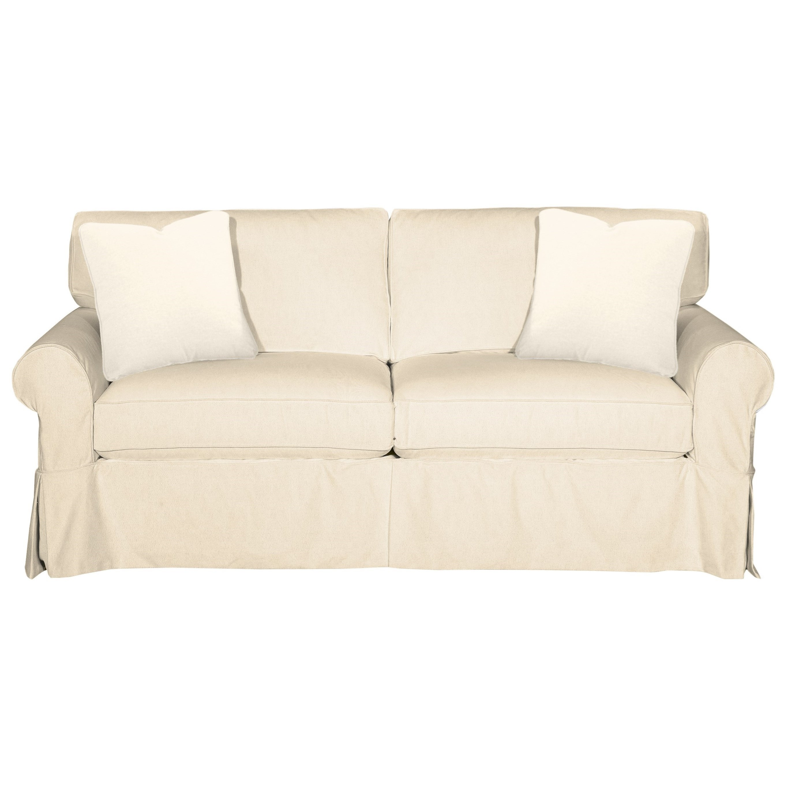 9228 Sleeper Sofa w/ Innerspring Mattress by Hickorycraft at Johnny Janosik