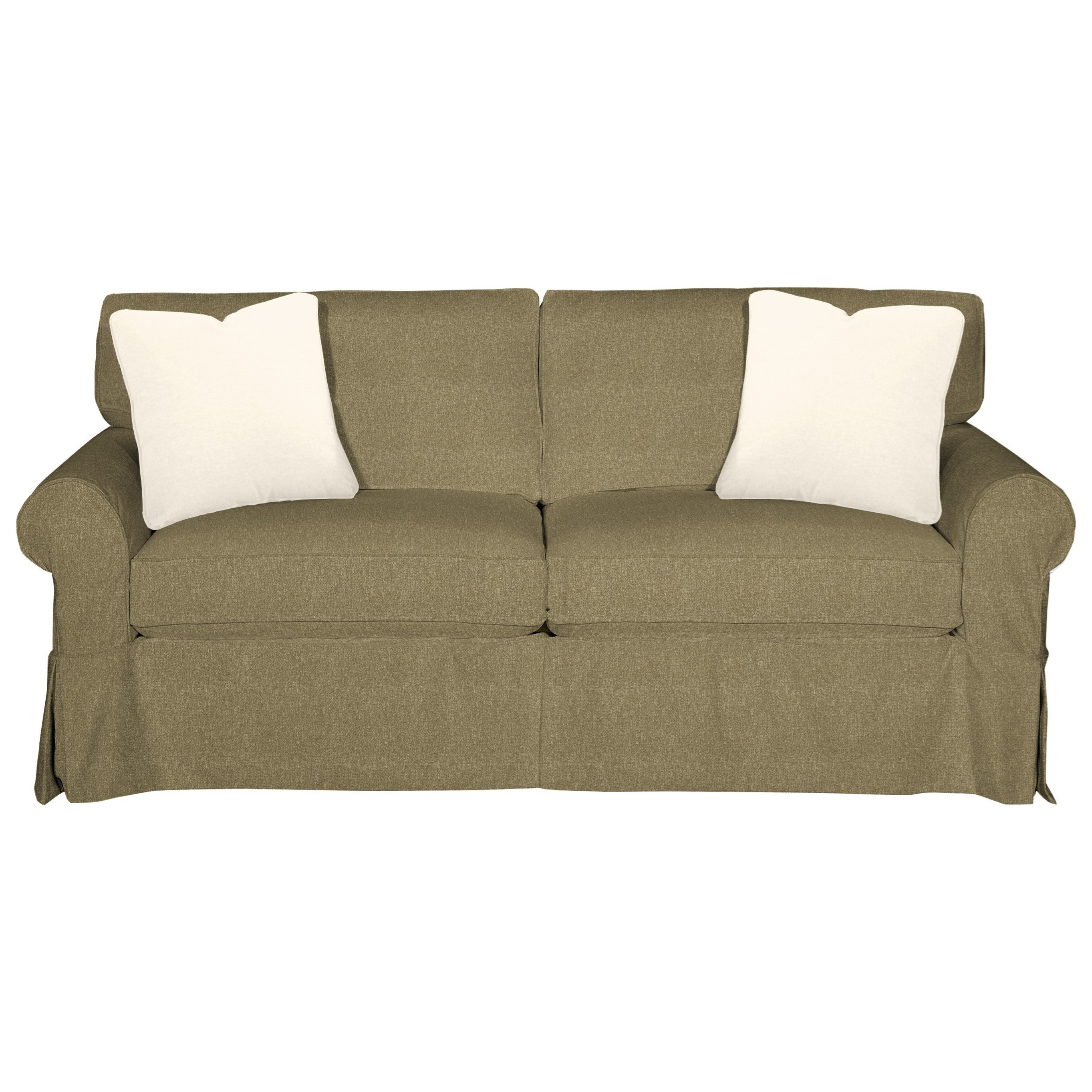 9228 Sleeper Sofa w/ Innerspring Mattress by Craftmaster at VanDrie Home Furnishings