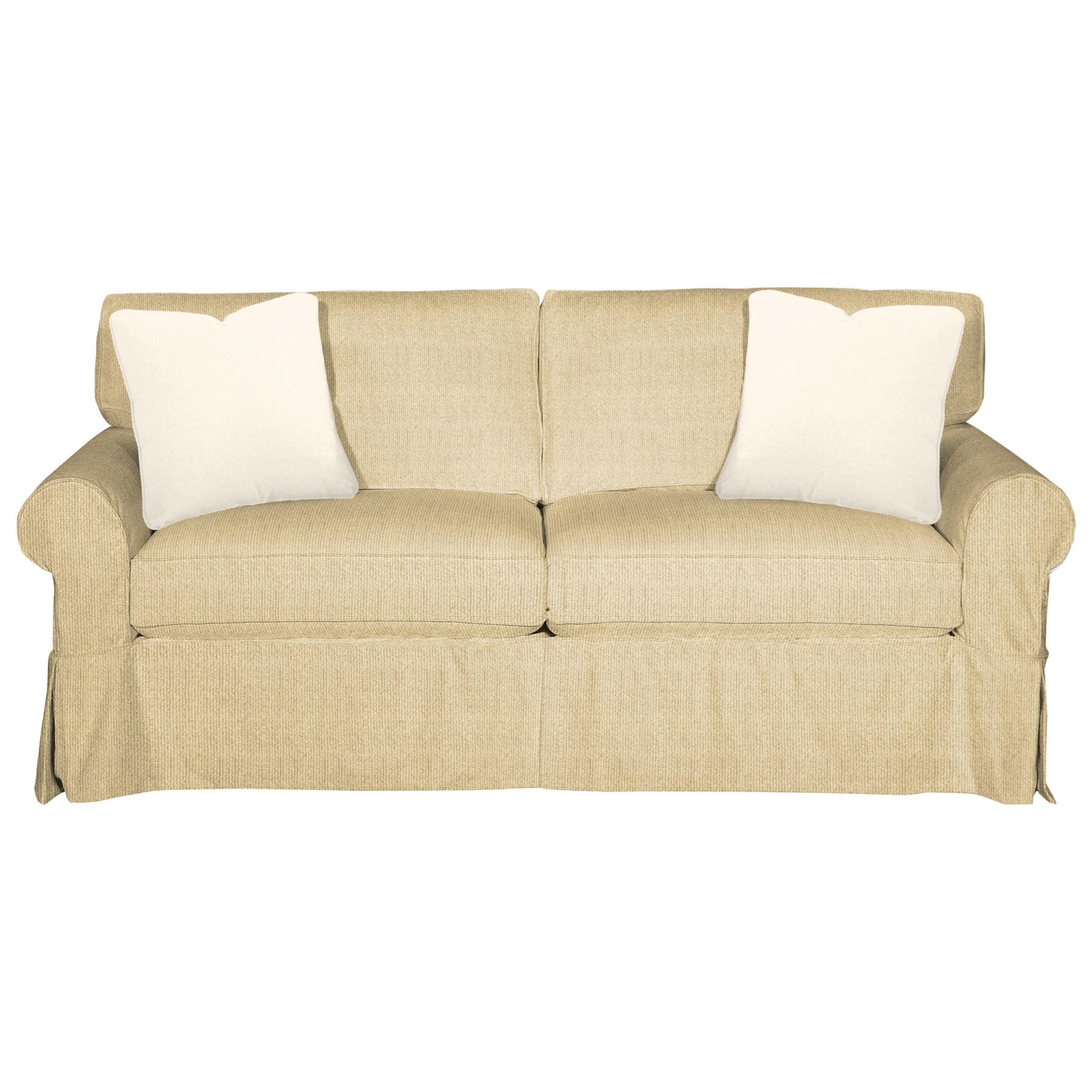 9228 Sleeper Sofa w/ Innerspring Mattress by Craftmaster at Goods Furniture