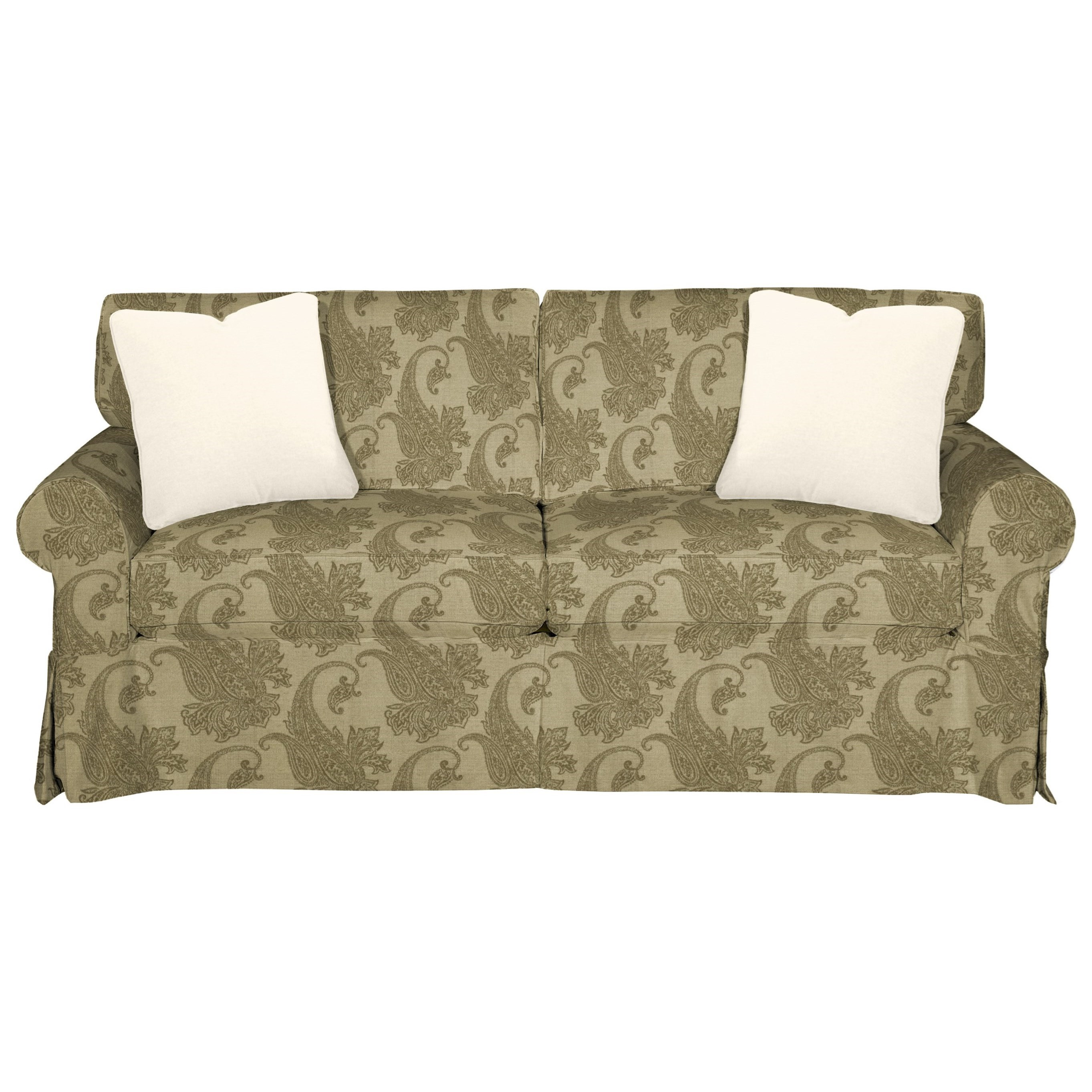 9228 Sleeper Sofa w/ Innerspring Mattress by Craftmaster at Miller Home