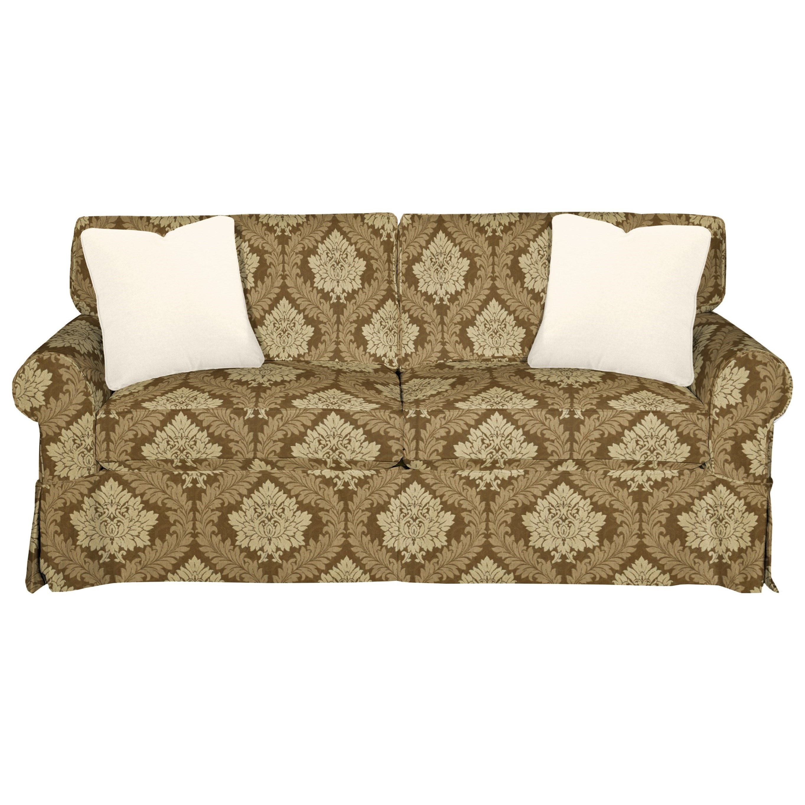 9228 Sleeper Sofa w/ Innerspring Mattress by Hickory Craft at Godby Home Furnishings