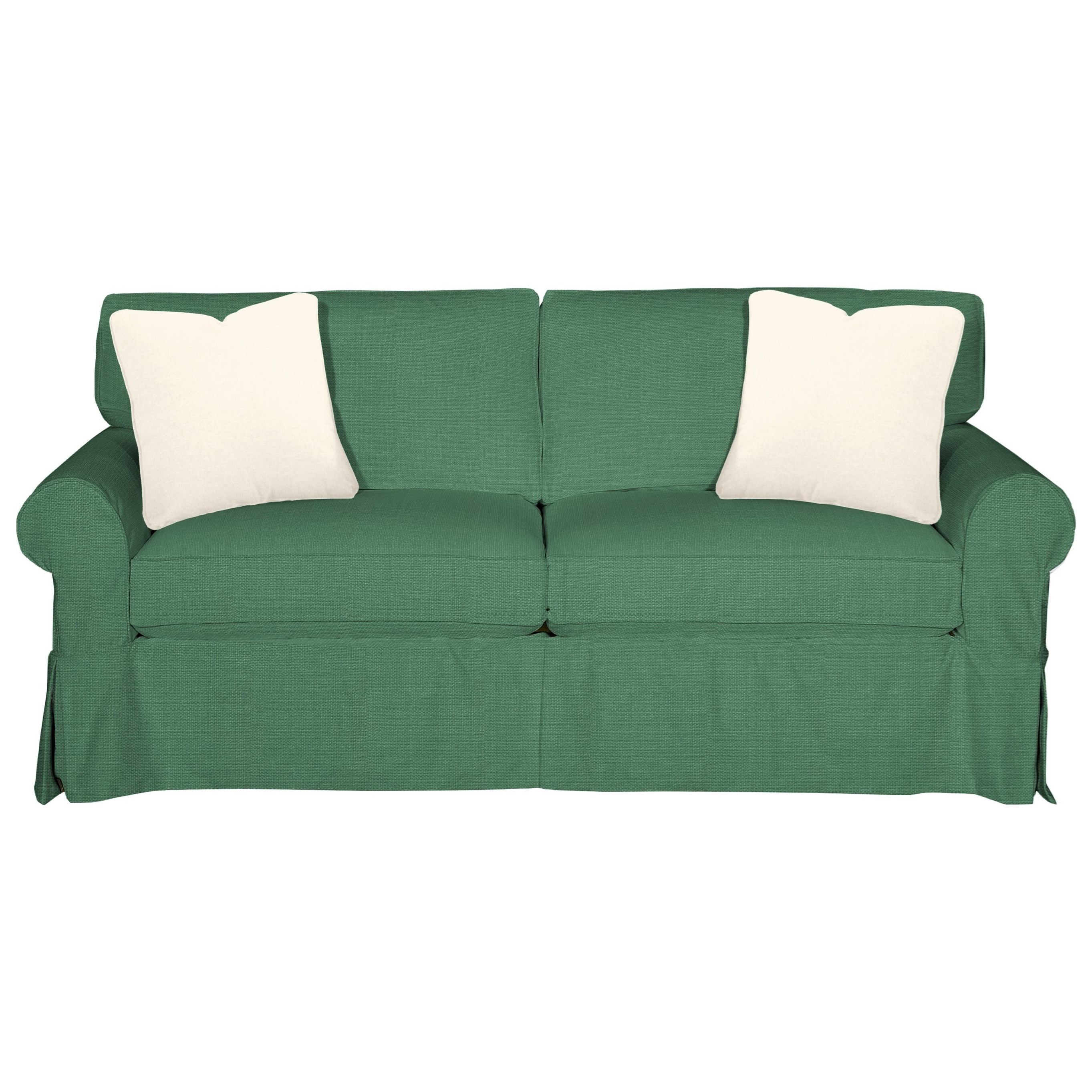 9228 Sleeper Sofa w/ Innerspring Mattress by Craftmaster at Dunk & Bright Furniture
