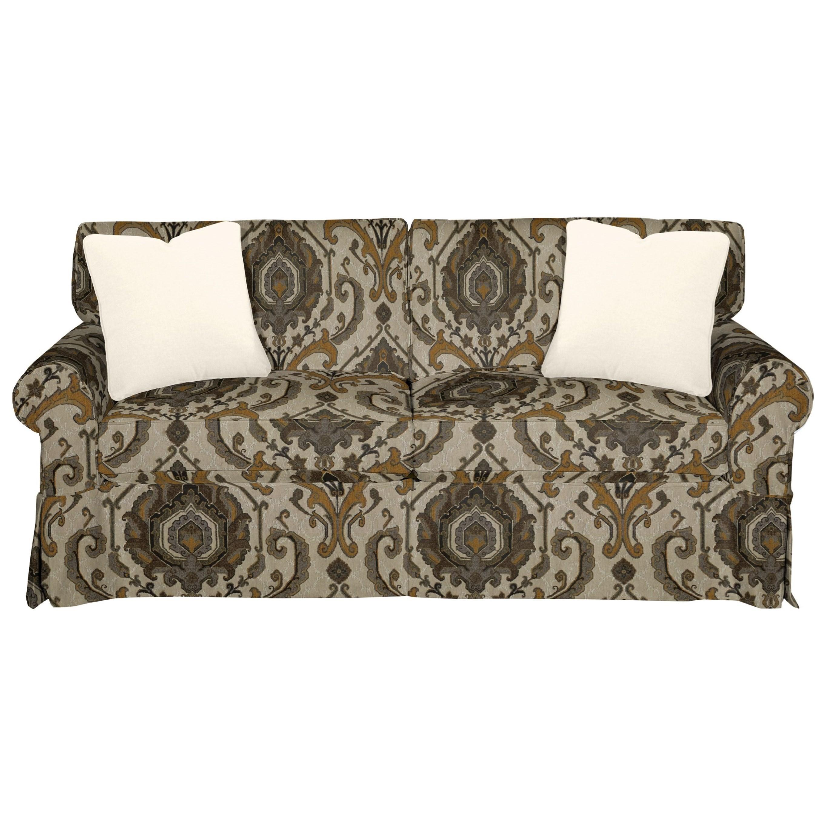 9228 Sleeper Sofa w/ Innerspring Mattress by Craftmaster at VanDrie Home Furnishings