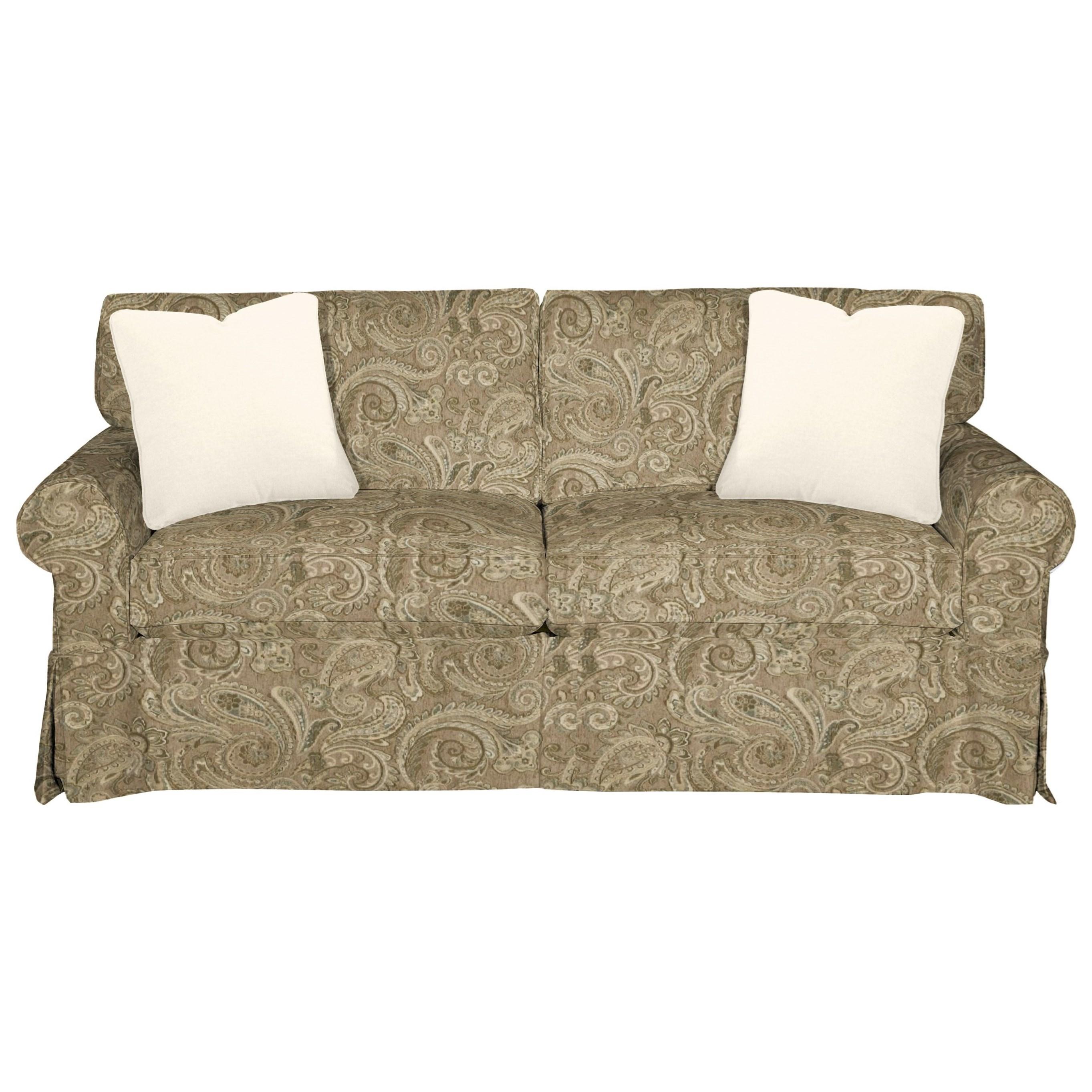 9228 Sleeper Sofa w/ Innerspring Mattress by Craftmaster at Stuckey Furniture