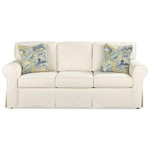 Craftmaster 9229 Queen Sleeper Sofa w/ Memoryfoam Mattress