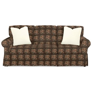 Casual Slipcover Sofa