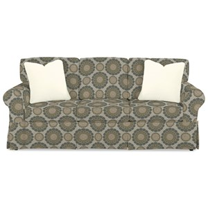 Casual Slipcover Sofa