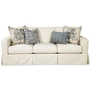 Vintage Skirted Slipcover Sofa