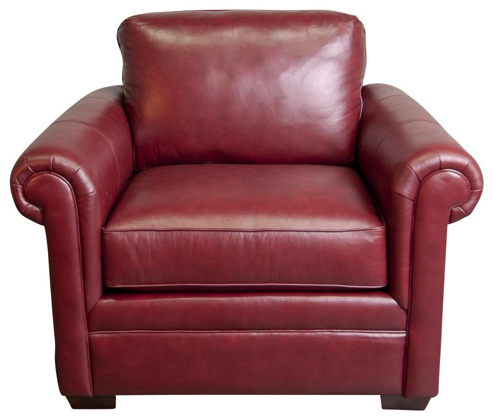 Bjorn Bjorn Leather Chair by Craftmaster at Morris Home