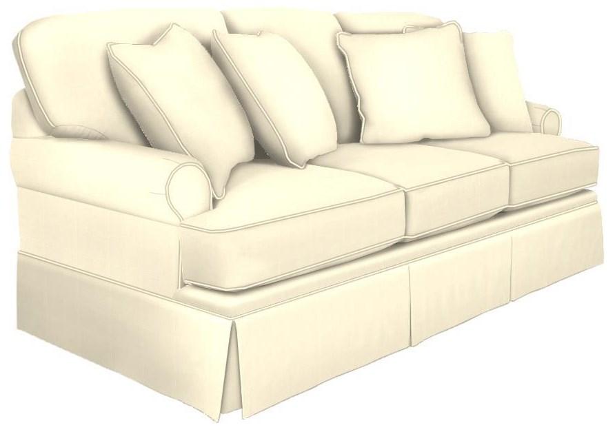 C9 Custom Collection custom sofa by Hickorycraft at Johnny Janosik
