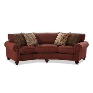 Craftmaster C9 Custom Collection <b>Custom</b> Conversation Sofa