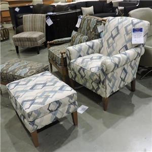 Chair w/ Ottoman