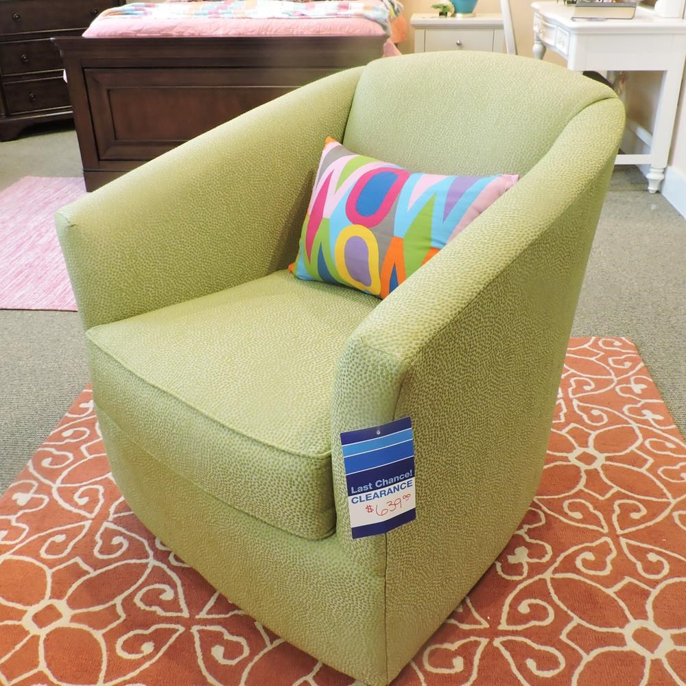 Clearance Swivel Chair by Craftmaster at Belfort Furniture