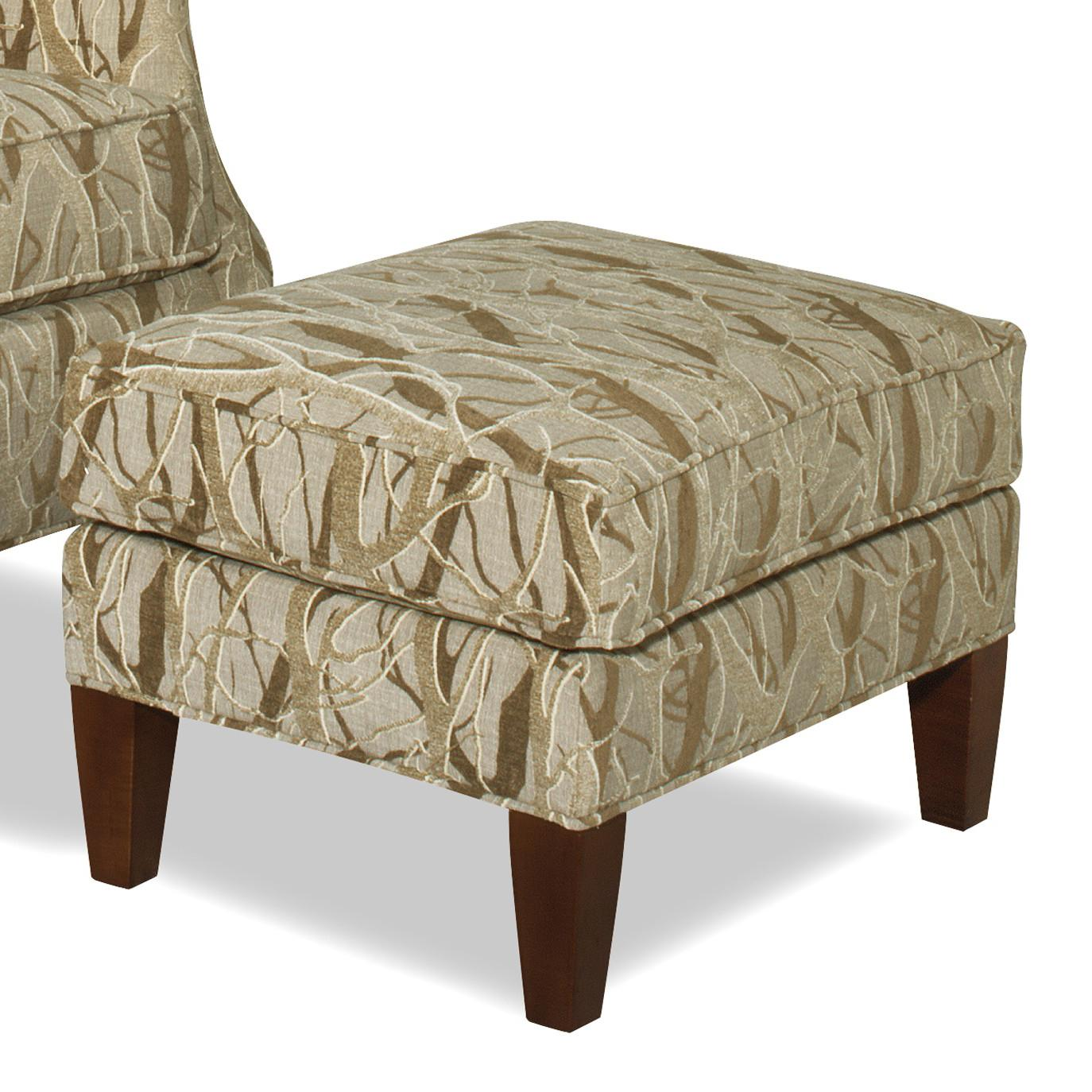 Accent Chairs Ottoman by Hickorycraft at Johnny Janosik