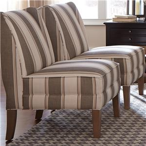 Craftmaster Accent Chairs Armless Chair