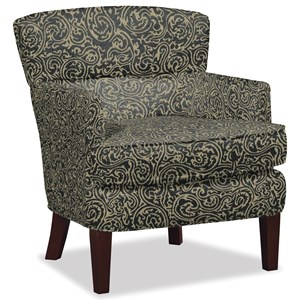 Modern Split Back Accent Chair