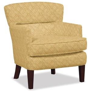 Modern Split Back Accent Chair