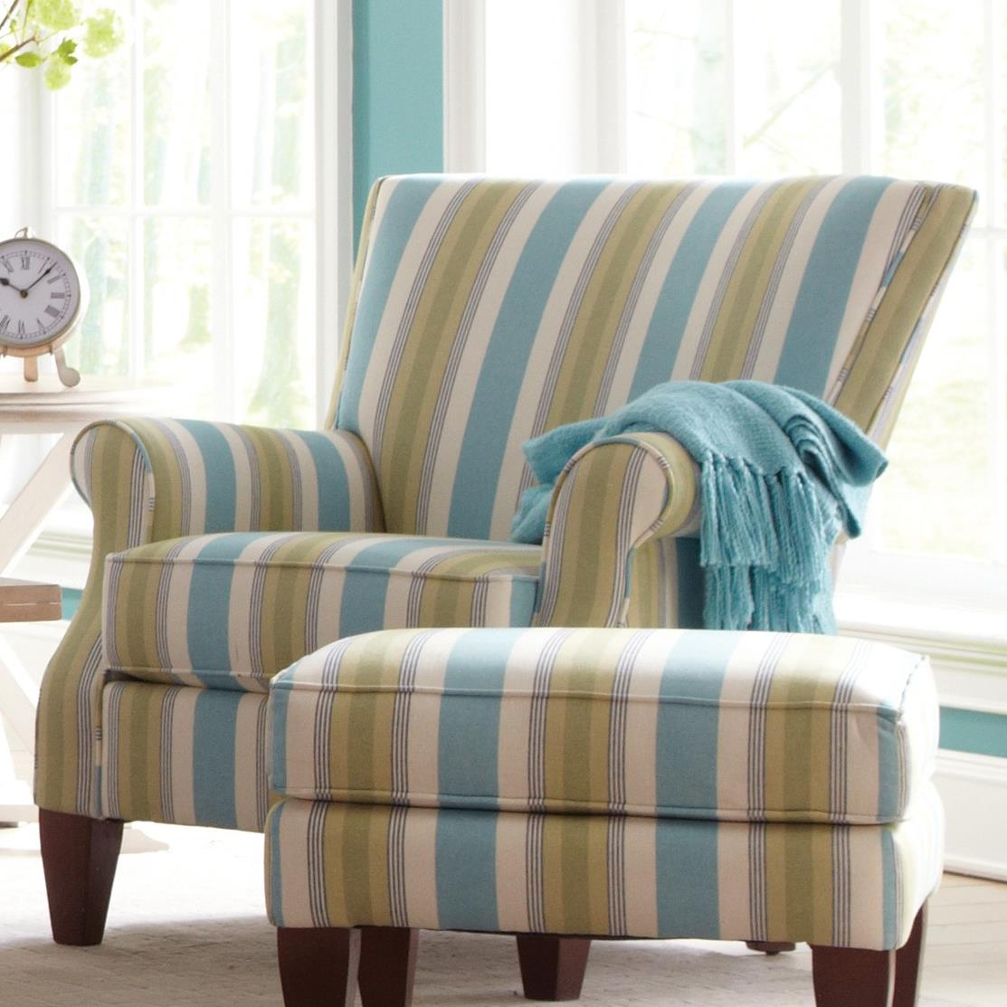 Accent Chairs Contemporary Upholstered Chair by Craftmaster at Baer's Furniture