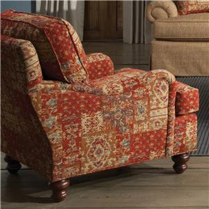Craftmaster Accent Chairs Upholstered Arm Chair