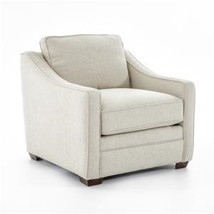 <b>Customizable</b> Stationary Upholstered Chair