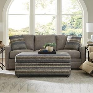Custom Sofa W/ Shallow Seat