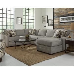 Customizable 4 Pc Sectional Sofa